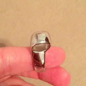 Silver Lia Sophia fashion ring